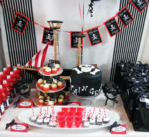 Boutique-Baking-Pirate-Party
